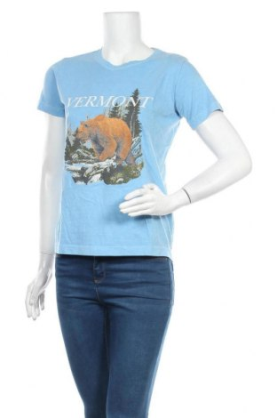Dámské tričko Topshop, Velikost M, Barva Modrá, Bavlna, Cena  315,00Kč