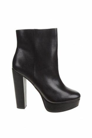 Γυναικεία μποτάκια Jessica Simpson, Μέγεθος 41, Χρώμα Μαύρο, Γνήσιο δέρμα, Τιμή 31,37€