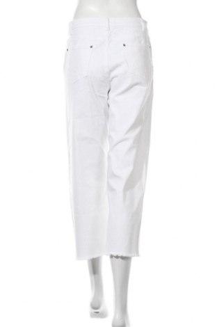 Дамски дънки Aniston, Размер M, Цвят Бял, 98% памук, 2% еластан, Цена 17,64лв.