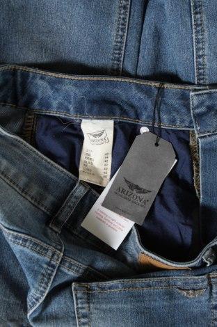 Дамски дънки Arizona, Размер M, Цвят Син, 79% памук, 19% полиестер, 2% еластан, Цена 26,74лв.