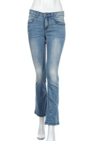 Дамски дънки Arizona, Размер S, Цвят Син, 79% памук, 19% полиестер, 2% еластан, Цена 19,74лв.