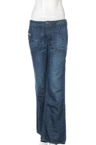 Dámské džíny  Diesel, Velikost S, Barva Modrá, 62% bavlna, 38% len, Cena  466,00Kč