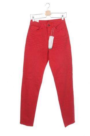 Дамски дънки Esprit, Размер XS, Цвят Червен, 98% памук, 2% еластан, Цена 27,38лв.