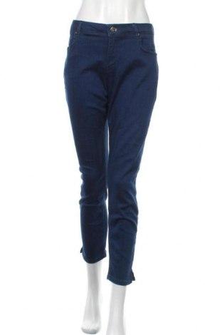 Дамски дънки Esprit, Размер XL, Цвят Син, 93% памук, 5% полиестер, 2% еластан, Цена 27,41лв.