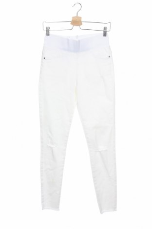 Дамски дънки Free Quent, Размер XS, Цвят Бял, 66% памук, 21% полиестер, 11% купро, 2% еластан, Цена 31,32лв.