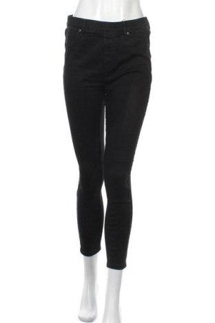 Дамски дънки Haily`s, Размер XL, Цвят Черен, 67% памук, 27% полиестер, 4% вискоза, 2% еластан, Цена 31,92лв.