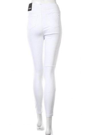 Дамски дънки Missguided, Размер S, Цвят Бял, 98% памук, 2% еластан, Цена 21,83лв.