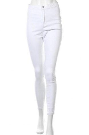 Дамски дънки Missguided, Размер M, Цвят Бял, 98% памук, 2% еластан, Цена 44,25лв.