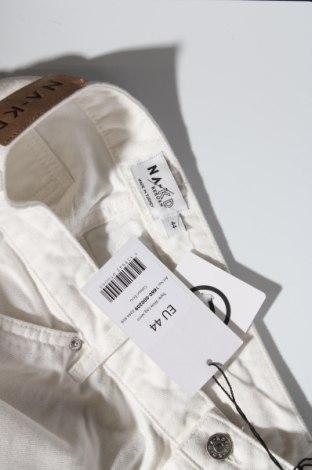Дамски дънки Na-Kd, Размер XL, Цвят Екрю, Памук, Цена 27,08лв.