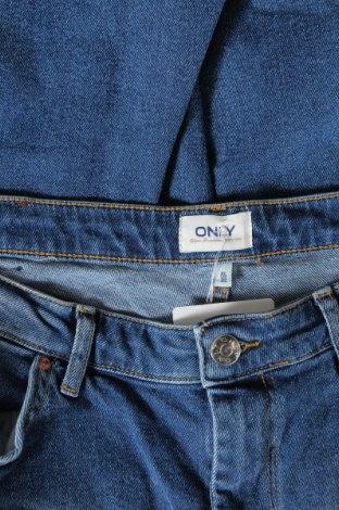 Дамски дънки ONLY, Размер XL, Цвят Син, 99% памук, 1% еластан, Цена 39,67лв.