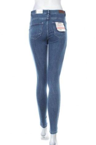Дамски дънки ONLY, Размер S, Цвят Син, 92% памук, 6% полиестер, 2% еластан, Цена 20,77лв.