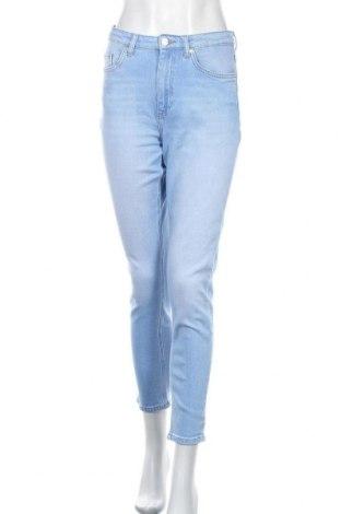 Дамски дънки ONLY, Размер S, Цвят Син, 99% памук, 1% еластан, Цена 51,75лв.