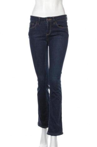 Дамски дънки Object, Размер S, Цвят Син, 99% памук, 1% еластан, Цена 13,23лв.