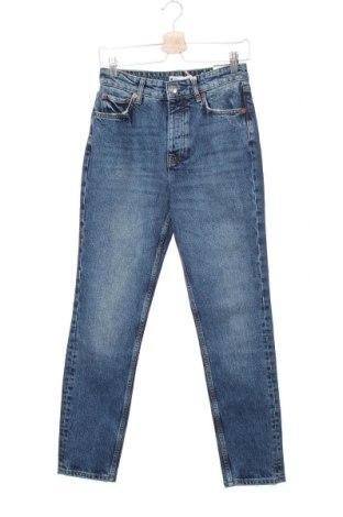 Дамски дънки Perfect Jeans By Gina Tricot, Размер S, Цвят Син, 99% памук, 1% еластан, Цена 39,33лв.