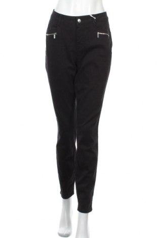 Дамски дънки Tamaris, Размер L, Цвят Черен, 98% памук, 2% еластан, Цена 34,50лв.