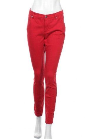 Дамски дънки Tamaris, Размер M, Цвят Червен, 98% памук, 2% еластан, Цена 32,00лв.