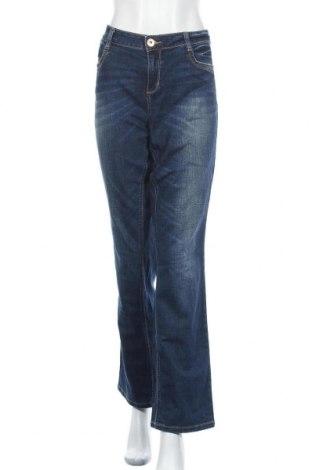 Γυναικείο Τζίν Tom Tailor, Μέγεθος XL, Χρώμα Μπλέ, 98% βαμβάκι, 2% ελαστάνη, Τιμή 17,15€