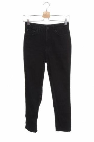 Дамски дънки Topshop Petite, Размер XS, Цвят Черен, Памук, Цена 25,38лв.