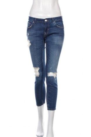 Dámské džíny  Zara, Velikost S, Barva Modrá, Cena  491,00Kč