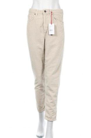 Pantaloni de velvet de femei BDG, Mărime M, Culoare Ecru, Bumbac, Preț 90,79 Lei