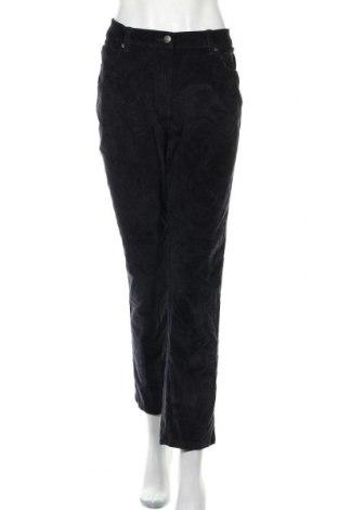 Dámské manšestráky  Bexleys, Velikost XXL, Barva Černá, 98% bavlna, 2% elastan, Cena  424,00Kč