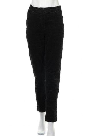 Dámské manšestráky  Canda, Velikost XL, Barva Černá, 98% bavlna, 2% elastan, Cena  439,00Kč
