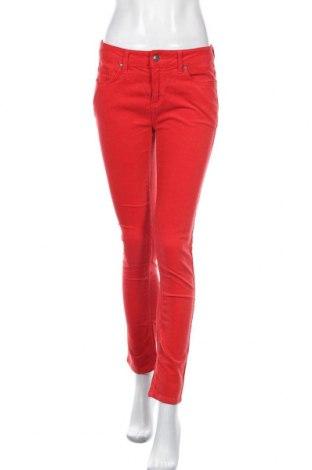 Дамски джинси Jette, Размер M, Цвят Червен, 98% памук, 2% еластан, Цена 8,00лв.
