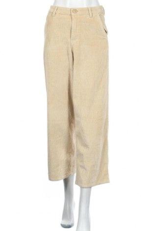 Дамски джинси Object, Размер M, Цвят Бежов, 70% памук, 24% вискоза, 5% полиестер, 1% еластан, Цена 17,01лв.