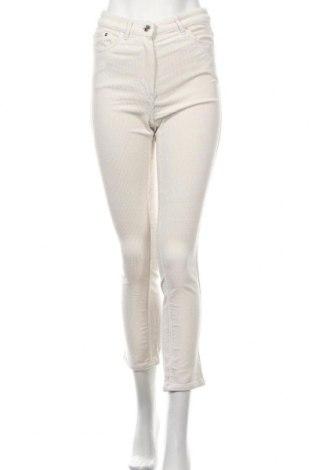 Дамски джинси Weekday, Размер S, Цвят Екрю, Памук, Цена 22,76лв.