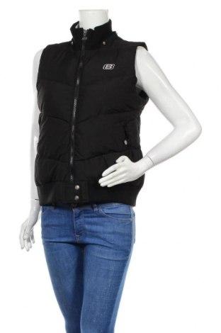 Дамски елек Skechers, Размер M, Цвят Черен, 100% полиестер, Цена 15,70лв.