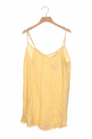 Γυναικεία σαλοπέτα Cotton On, Μέγεθος XS, Χρώμα Κίτρινο, 55% λινό, 45% βισκόζη, Τιμή 27,28€