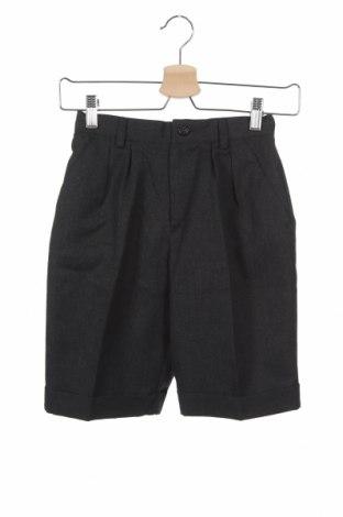 Dětské krátké kalhoty  Cacharel, Velikost 8-9y/ 134-140 cm, Barva Šedá, 60% vlna, 40% polyester, Cena  909,00Kč