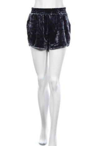 Γυναικείο κοντό παντελόνι H&M Divided, Μέγεθος L, Χρώμα Μπλέ, 90% πολυεστέρας, 10% ελαστάνη, Τιμή 8,83€