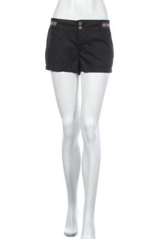 Дамски къс панталон Hot Options, Размер M, Цвят Черен, Памук, полиестер, Цена 23,21лв.