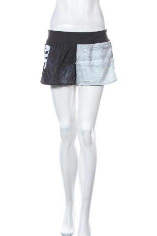 Pantaloni scurți de femei Reebok, Mărime L, Culoare Negru, 87% poliester, 13% elastan, Preț 120,89 Lei