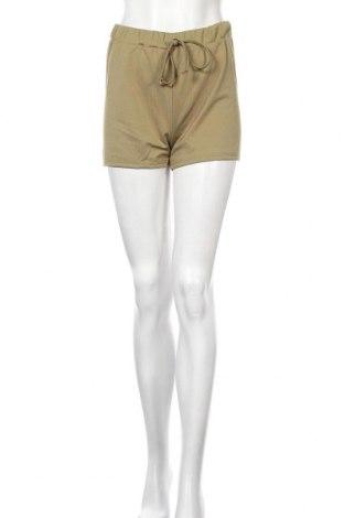 Дамски къс панталон SHEIN, Размер M, Цвят Зелен, Полиестер, Цена 4,46лв.