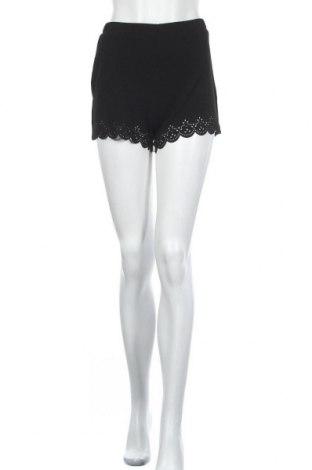 Дамски къс панталон SHEIN, Размер M, Цвят Черен, 95% полиестер, 5% еластан, Цена 14,96лв.