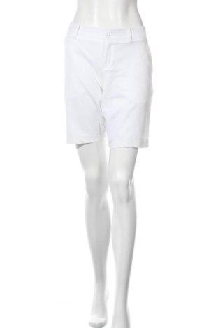 Pantaloni scurți de femei Under Armour, Mărime M, Culoare Alb, 90% poliester, 10% elastan, Preț 107,37 Lei