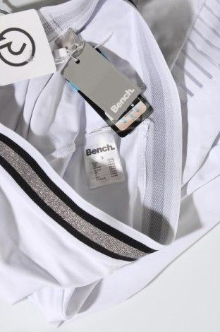 Дамски клин Bench, Размер S, Цвят Бял, 85% полиестер, 15% еластан, Цена 26,55лв.