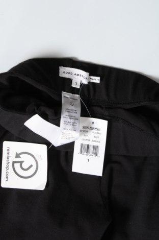 Дамски клин Good American, Размер S, Цвят Черен, 90% памук, 10% еластан, Цена 47,17лв.