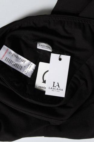 Дамски клин Lascana, Размер S, Цвят Черен, 92% памук, 8% еластан, Цена 18,48лв.