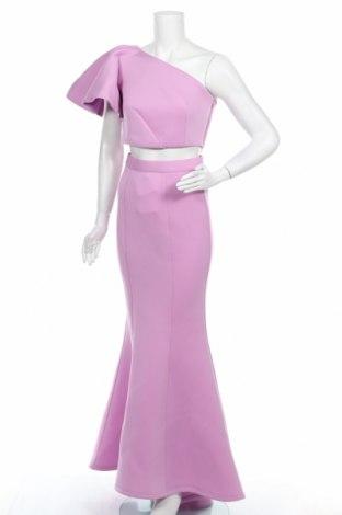 Set de femei Jarlo, Mărime S, Culoare Roz, 95% poliester, 5% elastan, Preț 215,30 Lei