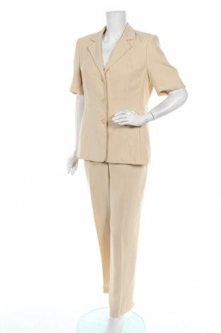 Costum de femei Betty Barclay, Mărime L, Culoare Bej, Poliester, Preț 169,73 Lei