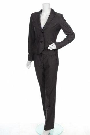 Costum de femei Tom Tailor, Mărime S, Culoare Gri, 76% poliester, 19% viscoză, 5% elastan, Preț 155,92 Lei