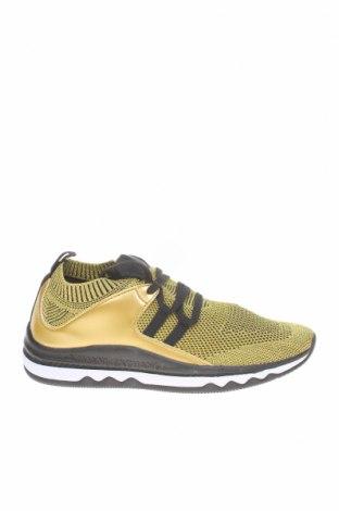 Γυναικεία παπούτσια Armani Exchange, Μέγεθος 38, Χρώμα Χρυσαφί, Κλωστοϋφαντουργικά προϊόντα, δερματίνη, Τιμή 68,19€