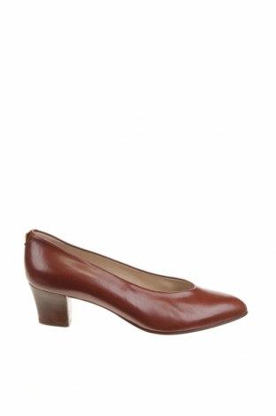 Дамски обувки Bally, Размер 39, Цвят Кафяв, Естествена кожа, Цена 159,22лв.