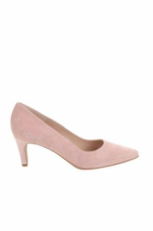 Дамски обувки Brenda Zaro, Размер 39, Цвят Розов, Естествен велур, Цена 55,60лв.