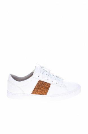 Γυναικεία παπούτσια Clarks, Μέγεθος 41, Χρώμα Λευκό, Γνήσιο δέρμα, κλωστοϋφαντουργικά προϊόντα, Τιμή 25,84€