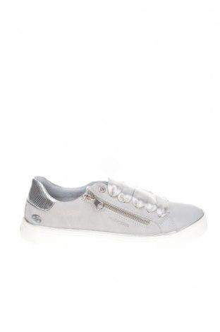 Дамски обувки Dockers by Gerli, Размер 37, Цвят Сив, Еко кожа, Цена 18,44лв.