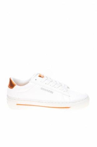 Дамски обувки Dockers by Gerli, Размер 37, Цвят Бял, Еко кожа, Цена 28,98лв.